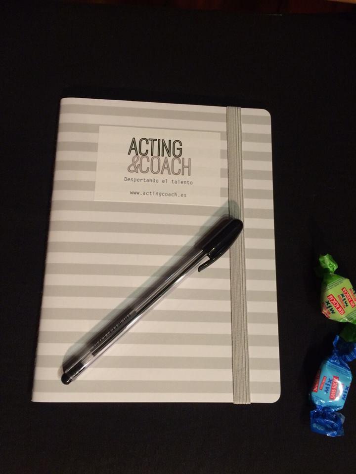 Éstas son nuestras armas :) Acting&Coach